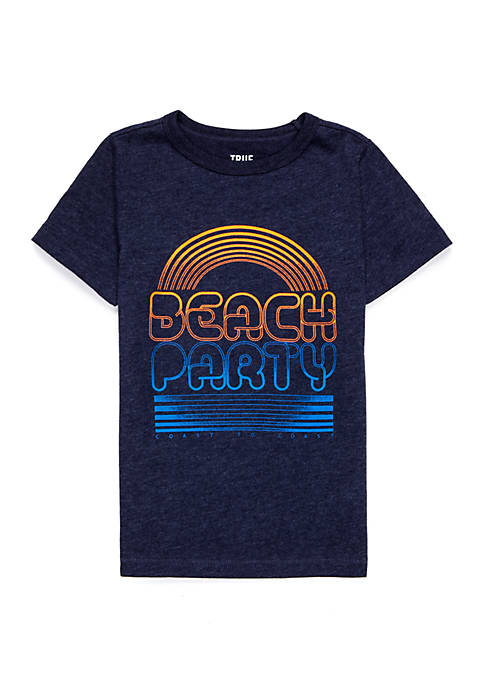 TRUE CRAFT Boys 4-8 Graphic Beach Party Tee