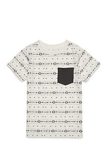 Boys 4-8 Short Sleeve Pocket Tee