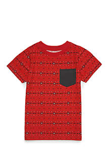 Boys 4-8 Short Sleeve Pocket Tee