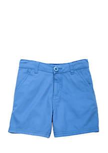 Boys 4-8 Flat Front Shorts