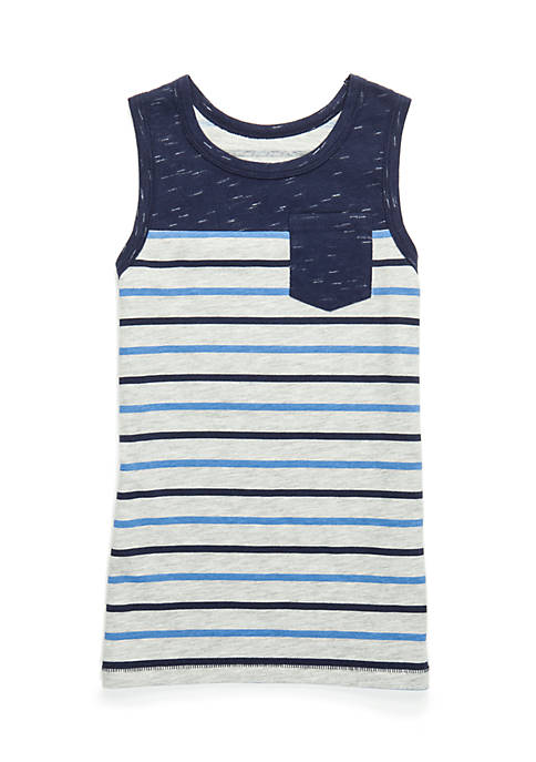 TRUE CRAFT Boys 4-8 Yoke Pocket Tank