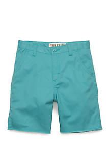 TRUE CRAFT Boys 4-8 Flat Front Shorts