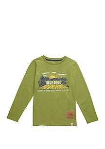 Boys 4-8 Long Sleeve Blue Ridge Graphic T Shirt