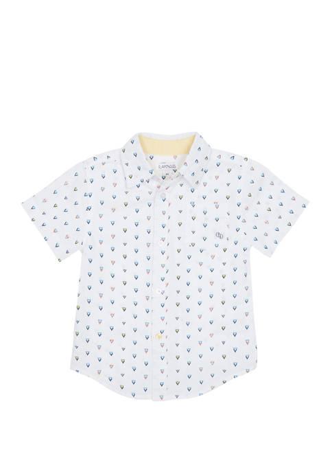 Flapdoodles Boys 2-7 Button Down Shirt
