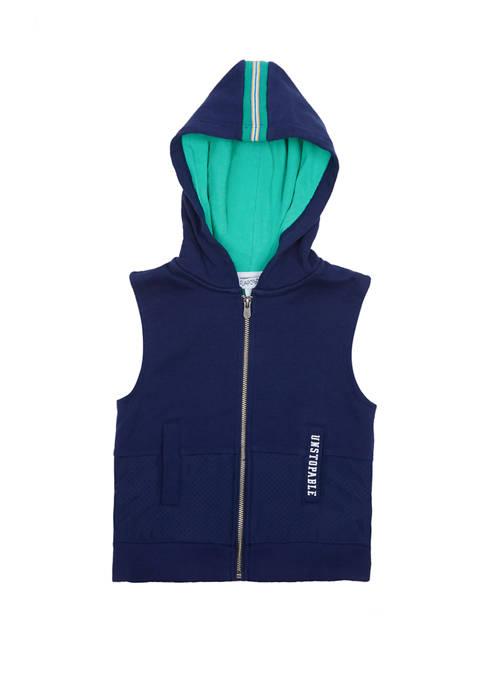 Flapdoodles Boys 2-7 Hoodie Vest