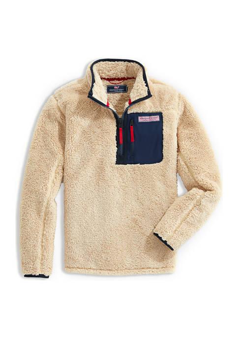 Boys 8-20 Sherpa 1/4 Zip Pullover