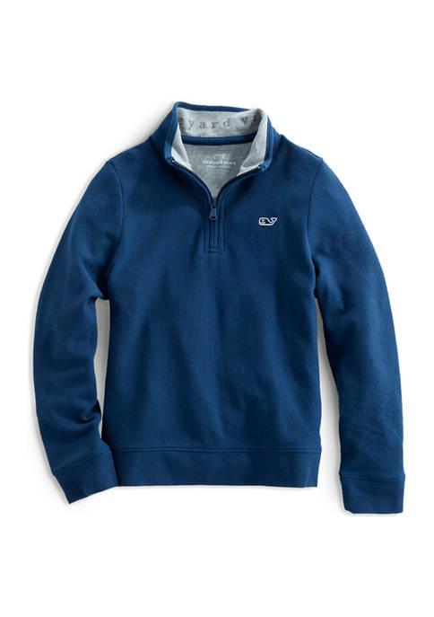 Boys 8-20 Saltwater 1/4 Zip Pullover