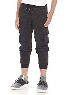 Boys 8-20 Becket Cargo Fleece Joggers