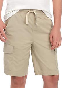 TRUE CRAFT Boys 8-20 Pull On Cargo Shorts