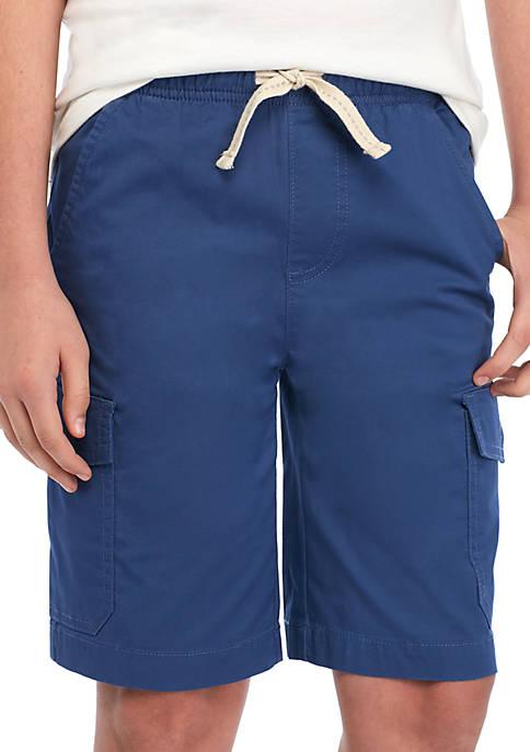 Boys 8-20 Pull On Cargo Shorts