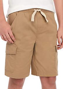 TRUE CRAFT Boys 8-20 Pull On Flat Front Shorts