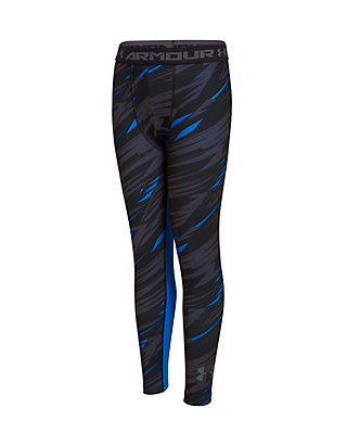 113eb09d9b Under Armour® HeatGear Armour Printed Fitted Leggings Boys 8-20 | belk