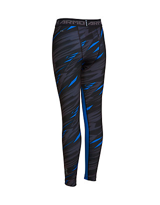 6926ff7c28 Under Armour®. Under Armour® HeatGear Armour Printed Fitted Leggings Boys 8- 20