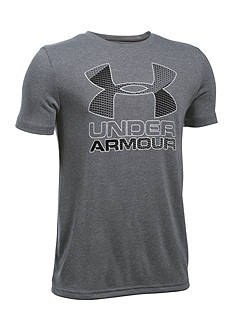 Under Armour® New Big Logo Hybrid 2.0 Tee Boys 8-20