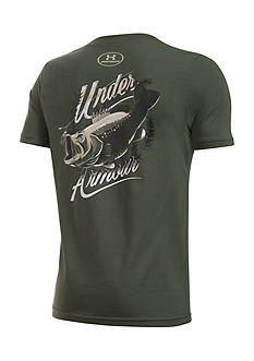 Under Armour® Big Mouth Bass Tee Boys 8-20