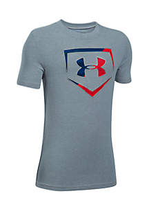 Baseball Logo Tee Boys 8-20