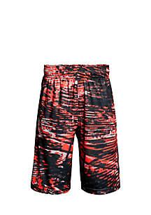 Printed Stunt Shorts Boys 8-20