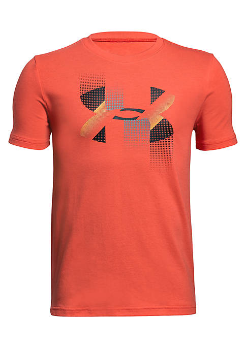 Under Armour® Boys 8-20 Rapid Logo Tee