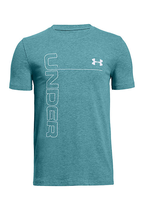 Under Armour® Boys 8-20 Front to Back Logo