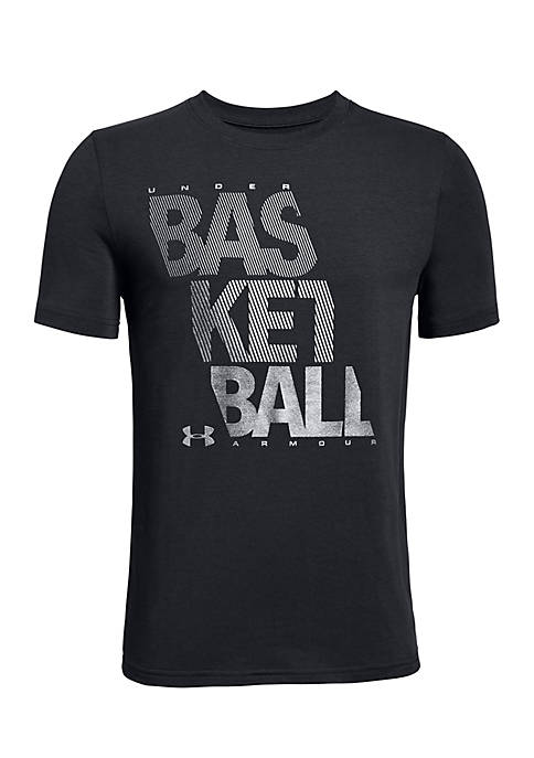 Under Armour® Boys 8-20 BBall Reflective Tee
