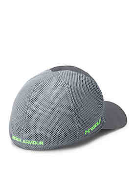 4dde38592bb ... Under Armour® Microthread Golf Mesh Cap Boys 8-20