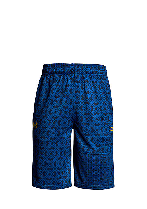 Under Armour® SC30 Printed Shorts Boys 8-20