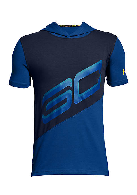 Under Armour® SC30 Short Sleeve Hoodie Boys 8-20