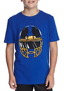 Face Mask Short Sleeve Tee Boys 8-20