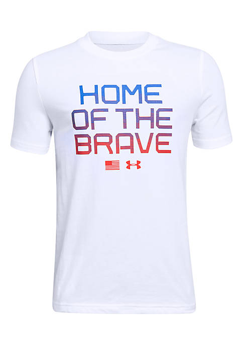 Under Armour® Boys 8-20 Home of The Brave