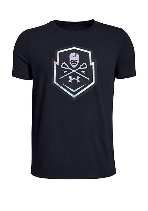 Under Armour® Boys 8-20 Lacross Icon Short Sleeve