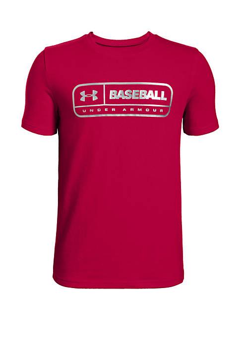 Under Armour® Boys 8-20 Baseball Locker Tag Graphic