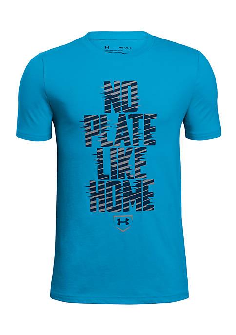 11f4f45693f5 Under Armour® UA No Plate Like Home Short Sleeve Shirt Boys 8-20