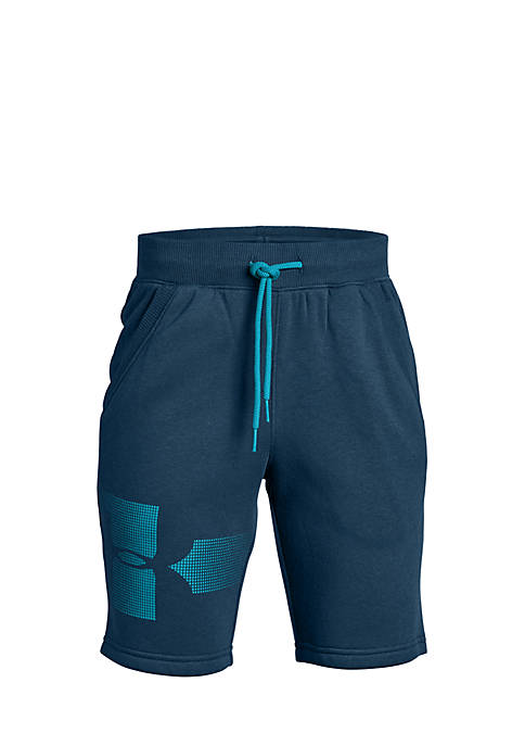 Under Armour® Boys 8-20 Rival Graphic Fleece Shorts