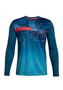 Under Armour® Boys 8-20 UA Sun Armour Long Sleeve Shirt