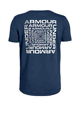 939e4927754 Under Armour® Boys 8-20 UA Back Box Graphic Short Sleeve Tee ...