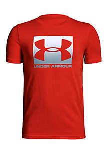 Boys 8-20 Box Logo Short Sleeve T-Shirt