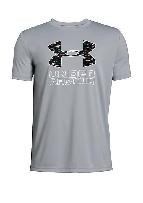 Under Armour® Boys 8-20 Print Fill Logo T-Shirt