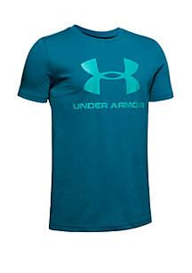 Under Armour® Boys 8-20 Sportstyle Logo Tee