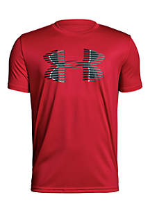 Boys 8-20 Tech Big Logo Solid Tee