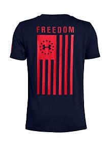 Under Armour® Boys 8-20 UA Freedom Flag T Shirt