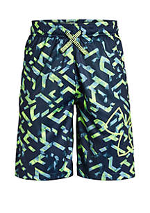 Under Armour® Boys 8-20 Renegade 2.0 Printed Shorts