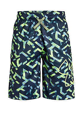 55947a83756 Under Armour® Boys 8-20 Renegade 2.0 Printed Shorts ...