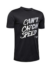 Under Armour® Boys 8-20 Can't Catch Speed Tee