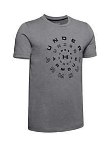 Under Armour® Boys 8-20 Radial Short Sleeve Tee
