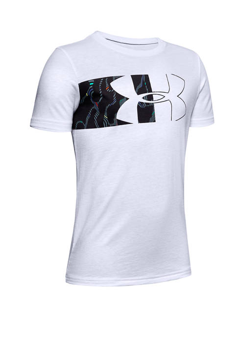 Under Armour® Boys 8-20 Split Logo Print Fill