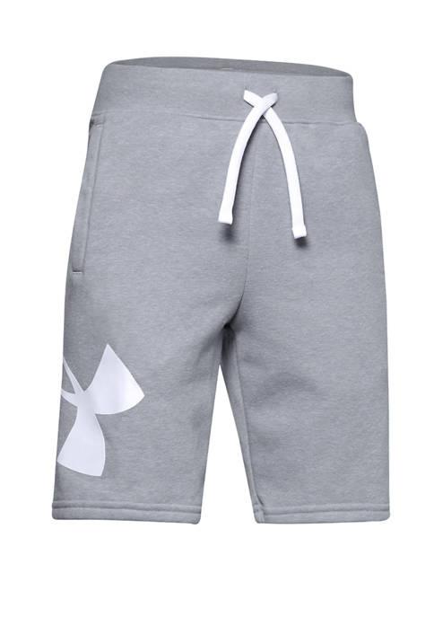Under Armour® Boys 8-20 Rival Fleece Logo Shorts
