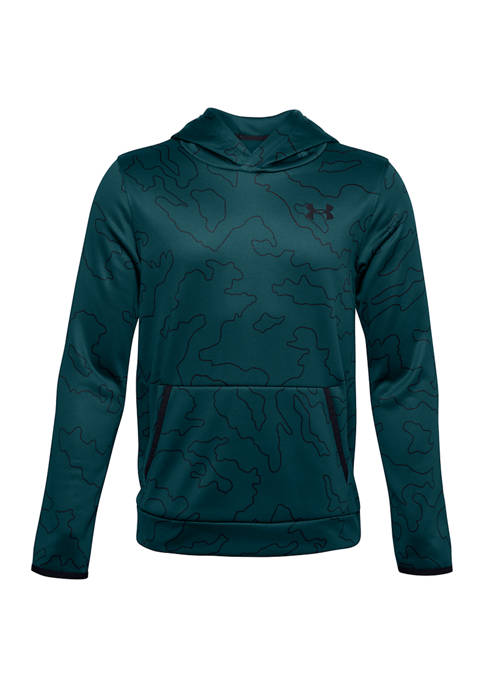 Under Armour® Boys 8-20 Armour Fleece Printed Hoodie