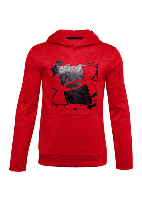 Boys 8-20 Armour Fleece® Graphic Logo Hoodie