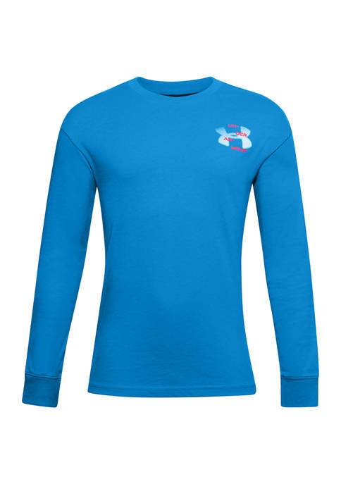 Under Armour® Boys 8-20 Long Sleeve T-Shirt