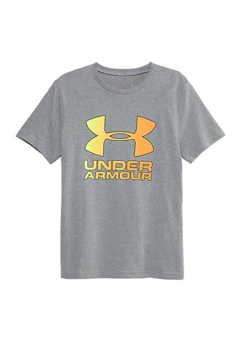 Under Armour® Boys 8-20 Gradient Big Logo Short